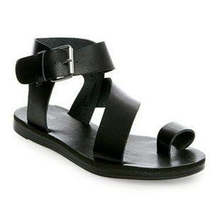 Mossimo Black Strappy Sandals